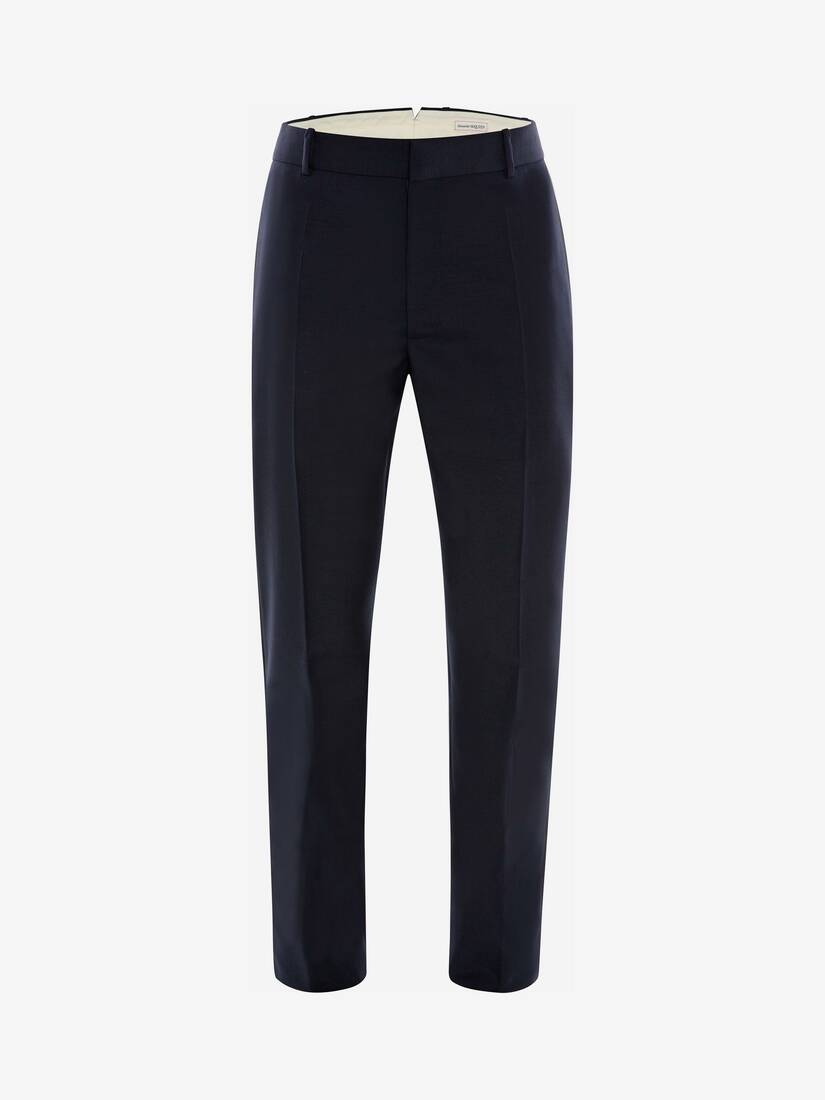 Display a large version of the product image 1 - Wool Mohair Tuxedo Trousers