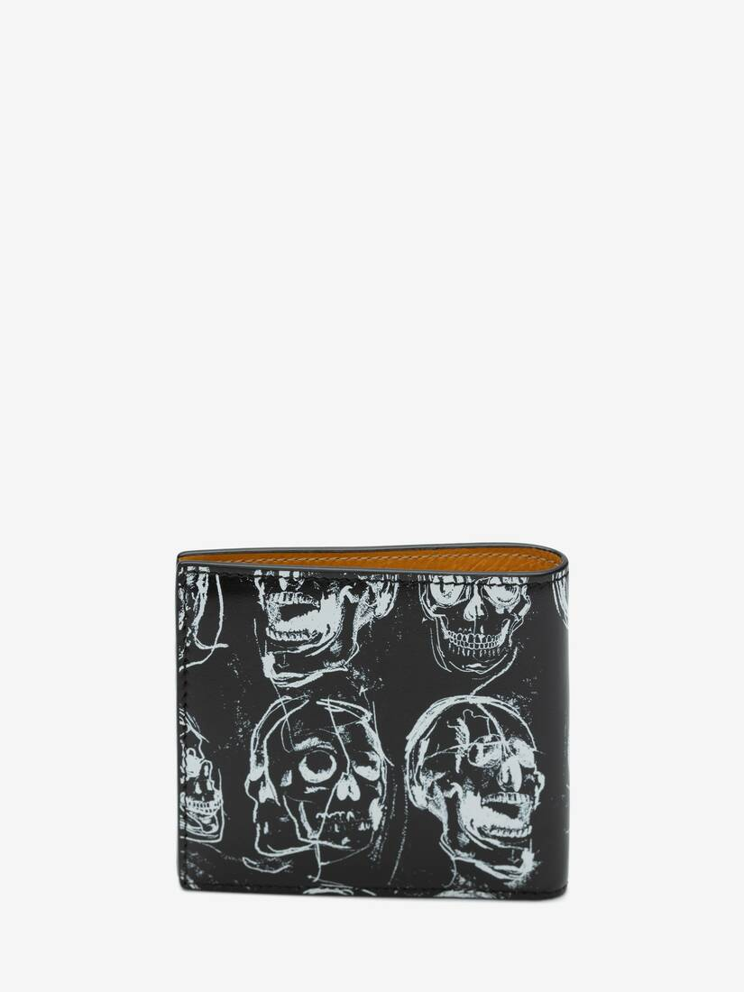 Display a large version of the product image 3 - Painted Skull Billfold Wallet