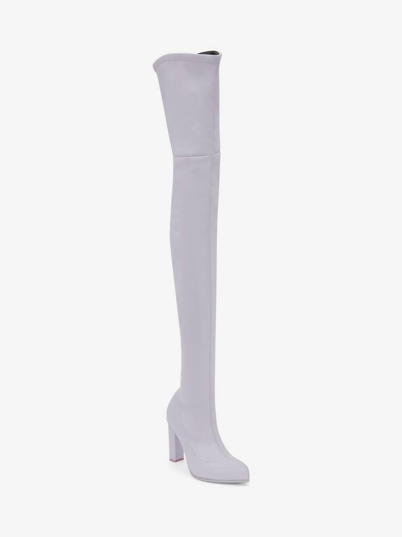Thigh-High Peak Boot