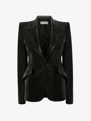 Couture Stitch Leather Jacket