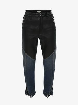 Pantalon hybride Trompe-l'œil