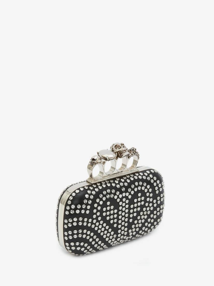 Minaudière Skull Four Ring