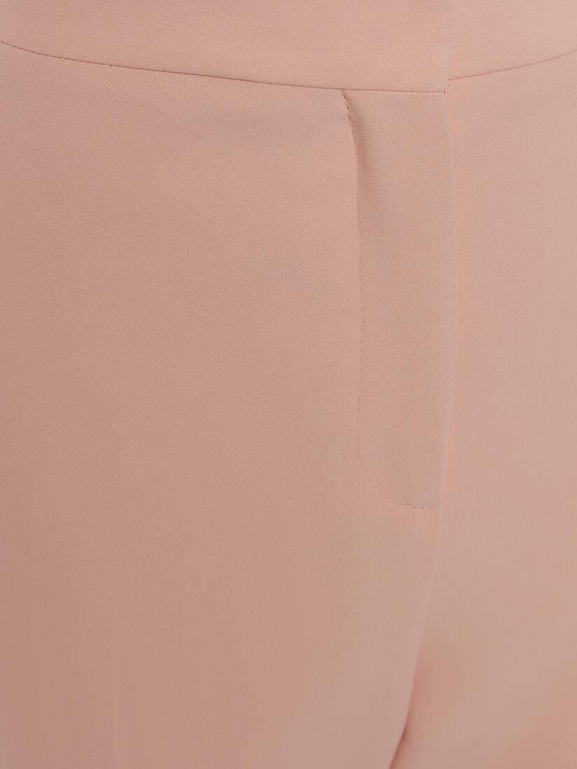 Leaf Crepe Cigarette Trouser
