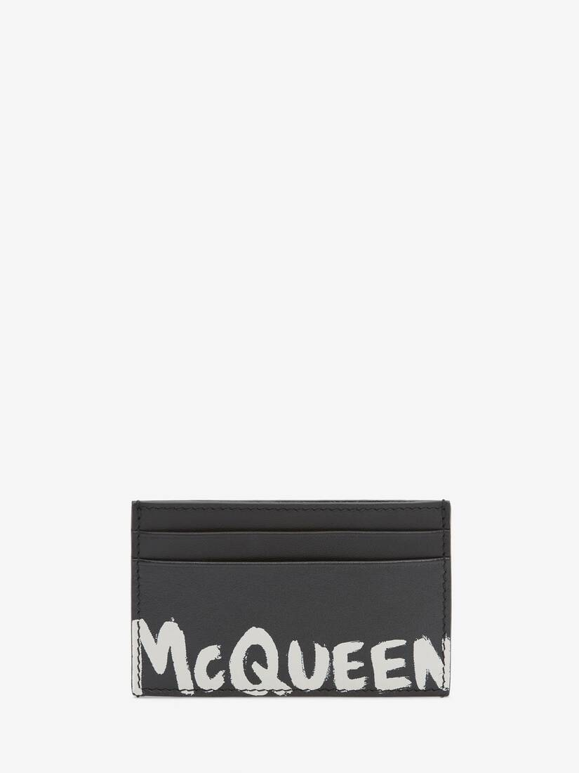 Display a large version of the product image 1 - McQueen Graffiti Card Holder