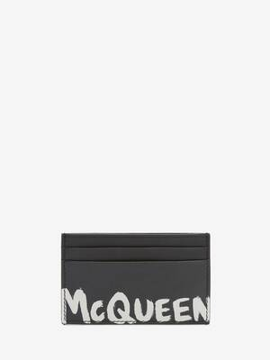 McQueen グラフィティ カードホルダー