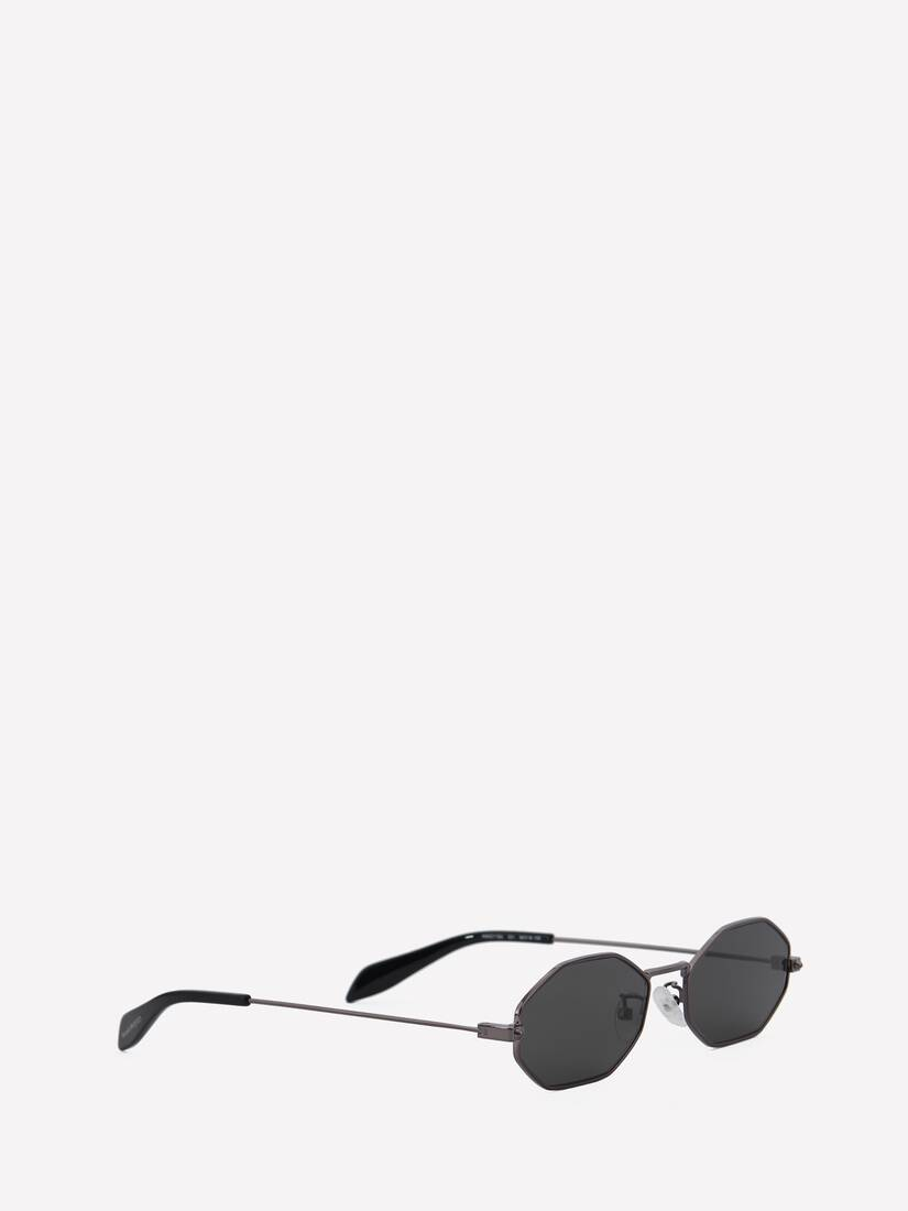 Display a large version of the product image 3 - Piercing Octagonal Sunglasses