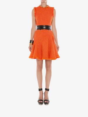 Boucle Tweed Mini Dress