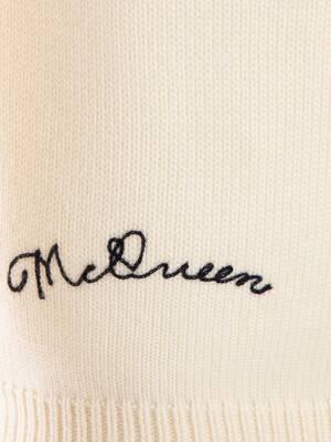 Pullover Skull Patchwork Alexander McQueen