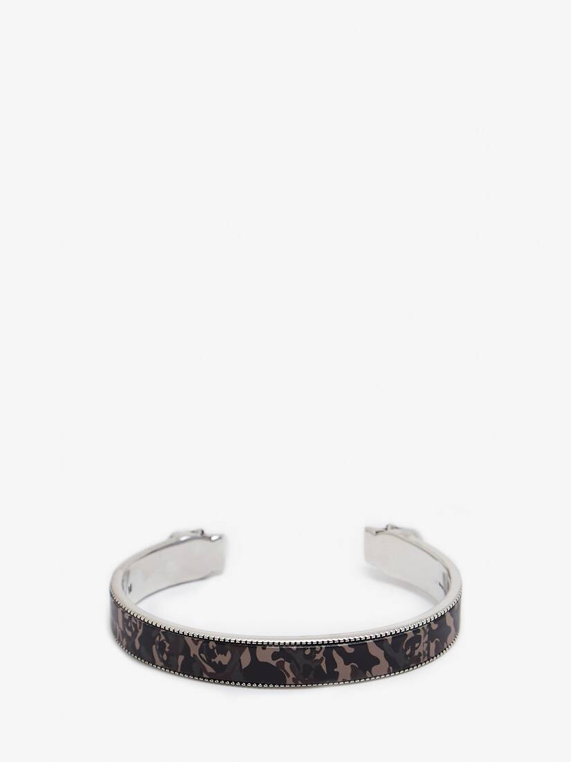Display a large version of the product image 2 - Twin Skull Camouflage Bracelet