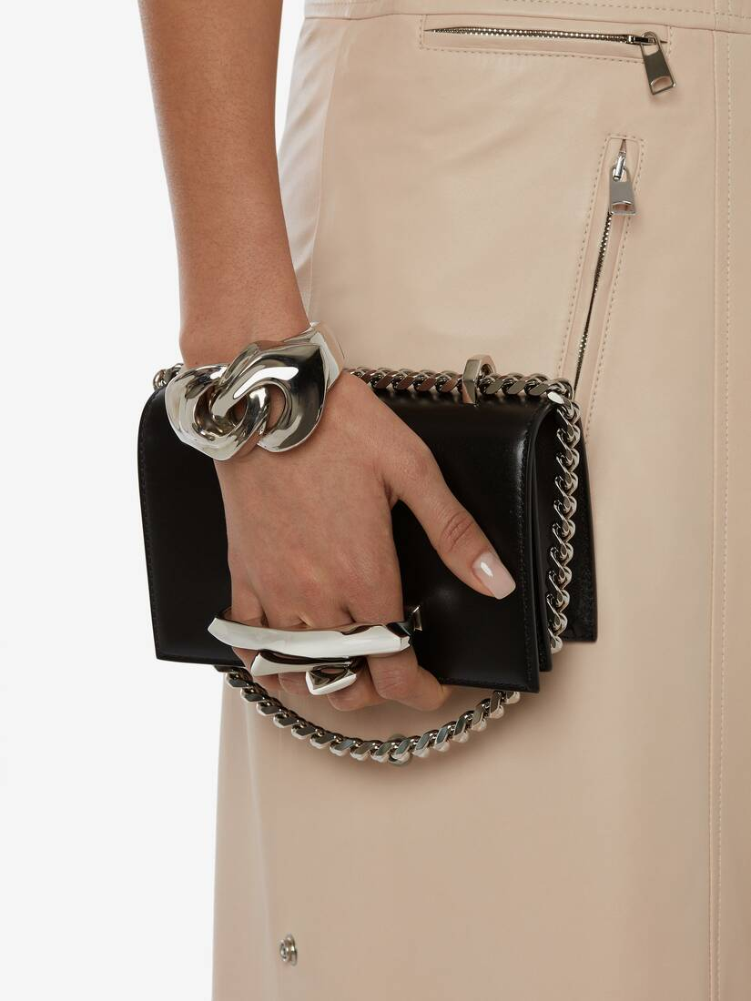Sac Mini Jewelled Satchel Sculptural