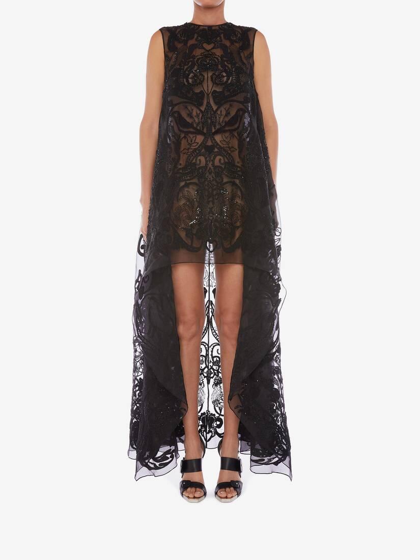 大きな製品イメージを表示する 2 - ブーコリック エンブロイダリー チュール ドレス
