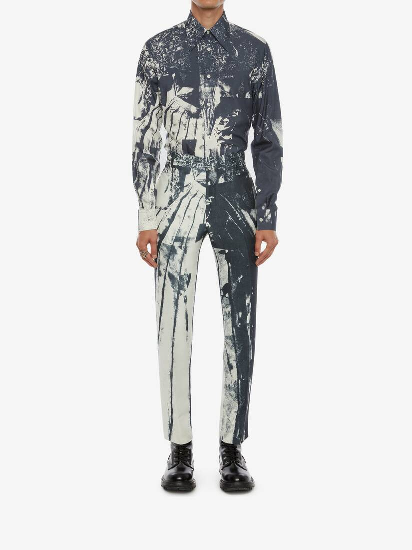 Display a large version of the product image 2 - Trompe-l'œil Printed Shirt
