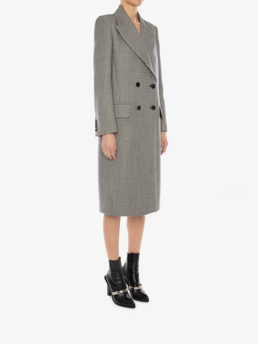 Prince of Wales Oversized Coat