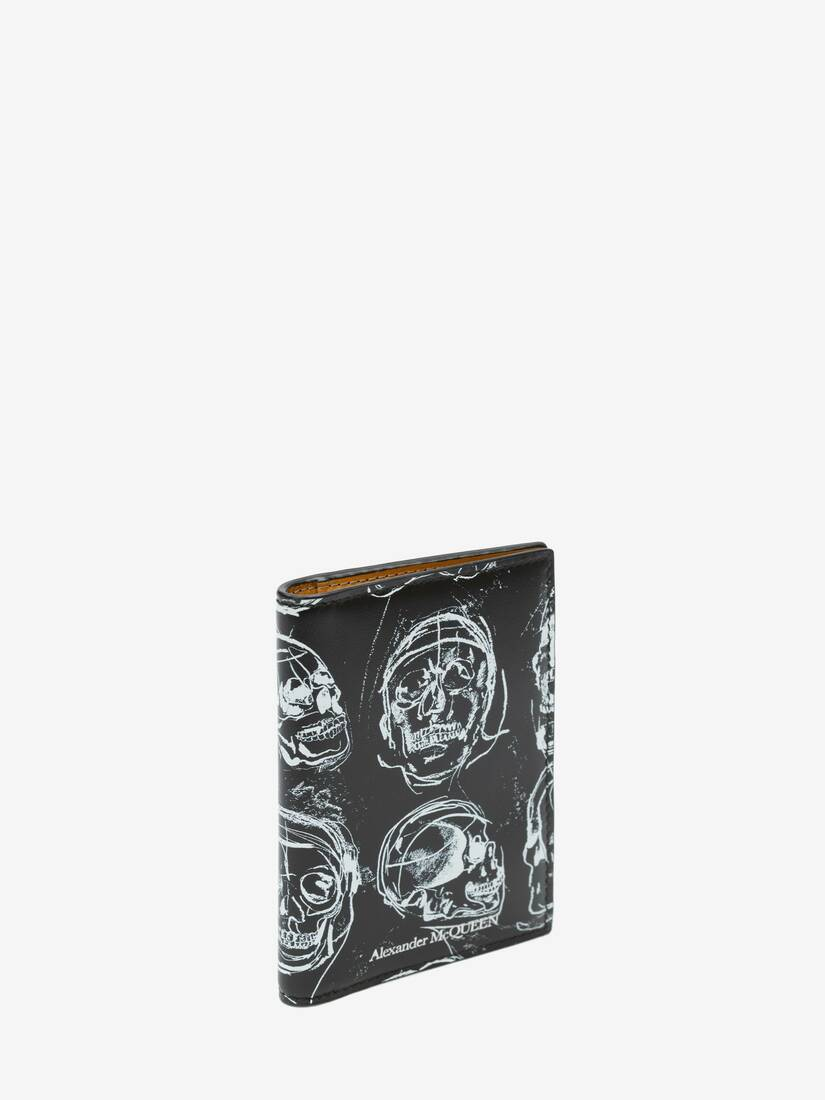 Display a large version of the product image 2 - Painted Skull Pocket Organiser