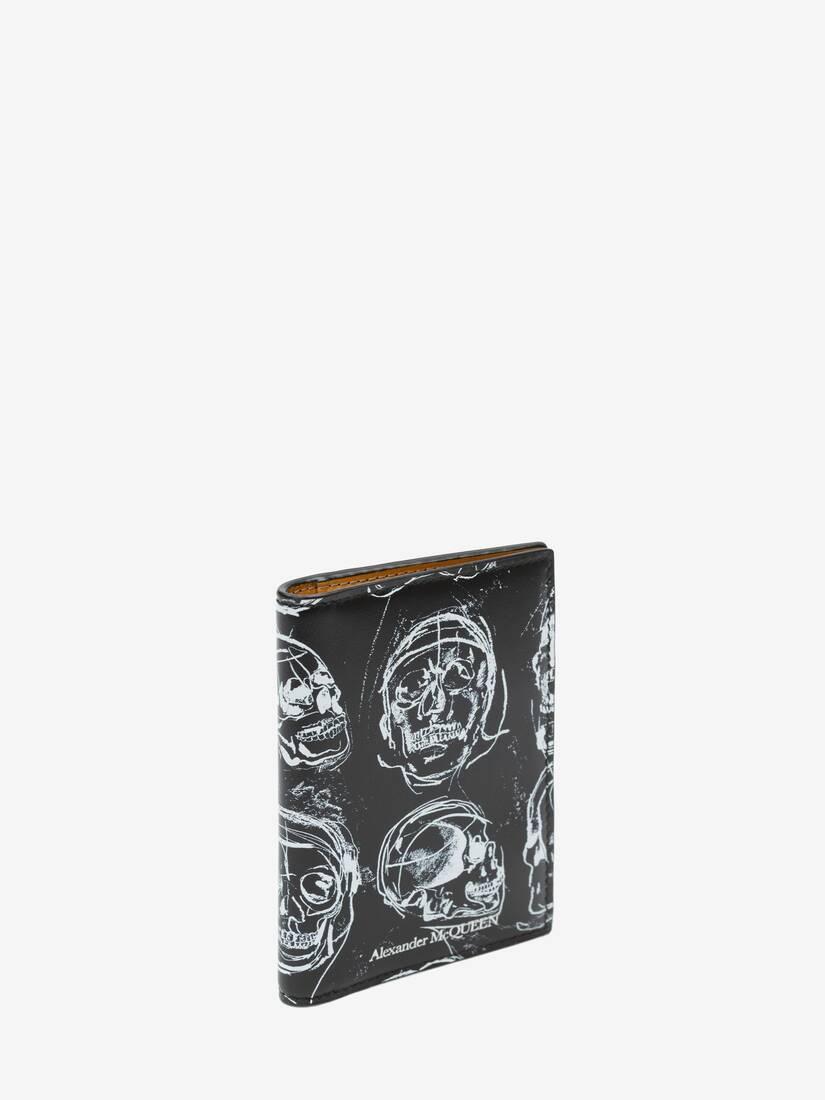 大きな製品イメージを表示する 2 - ペインテッド スカル ポケットオーガナイザー