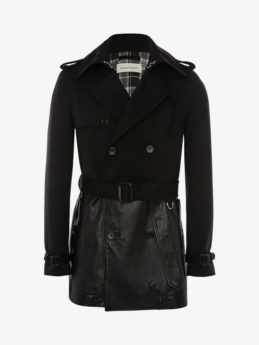 Display a large version of the product image 1 - Hybrid Cropped Peacoat