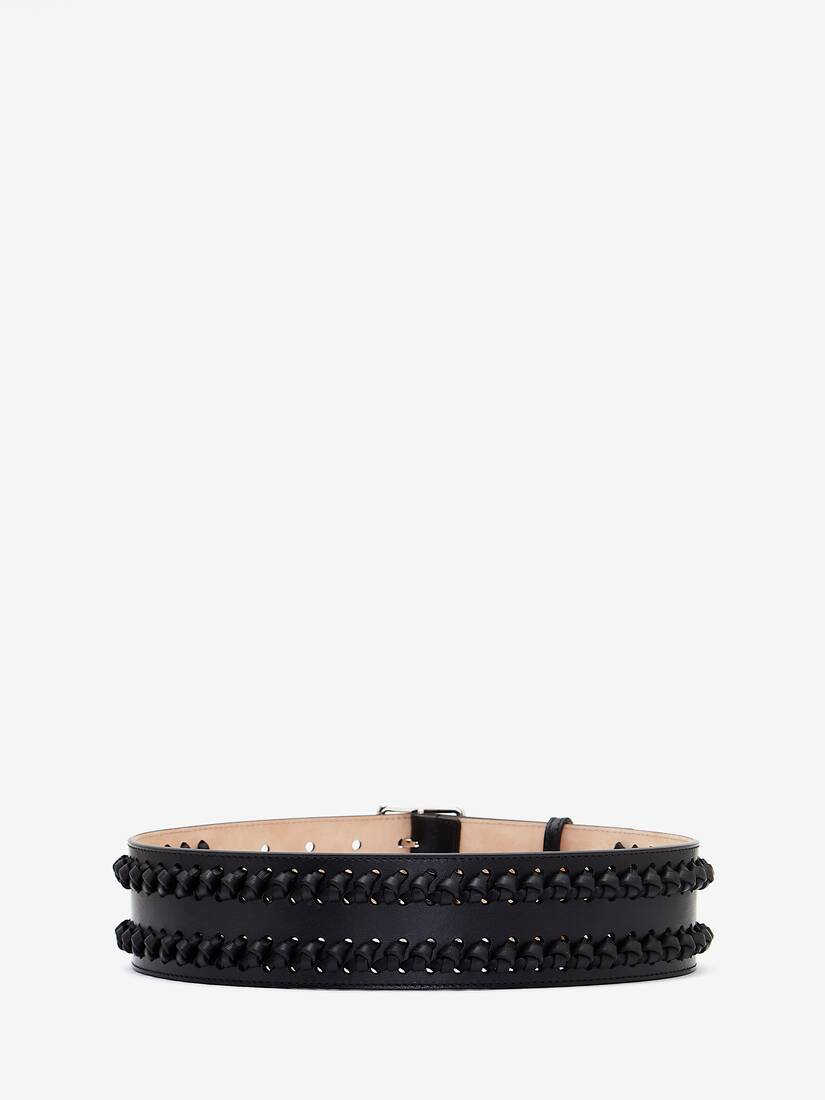 Military Belt with Knots