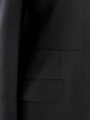 Light Wool Silk Cape