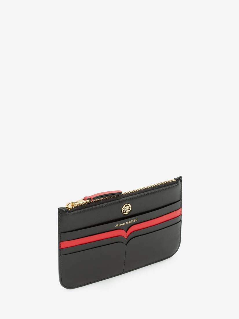 Display a large version of the product image 2 - Signature Flat Zip Wallet