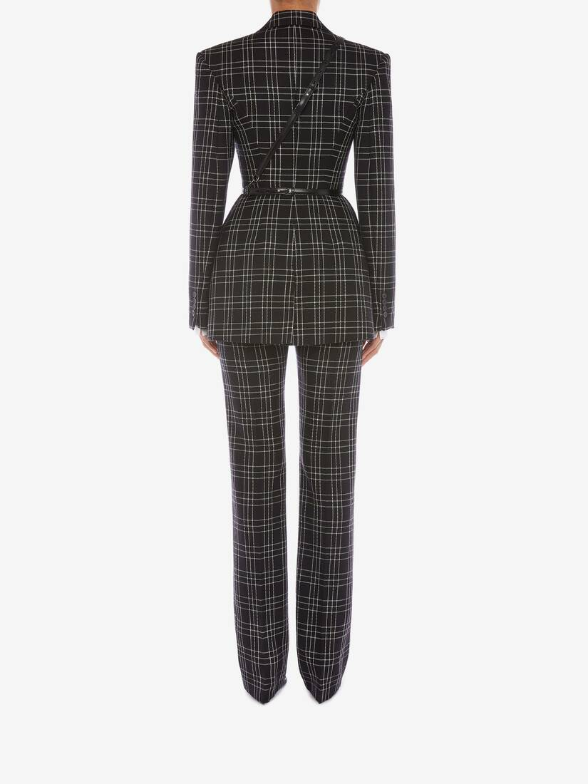 Display a large version of the product image 4 - Welsh Check Cigarette Trouser