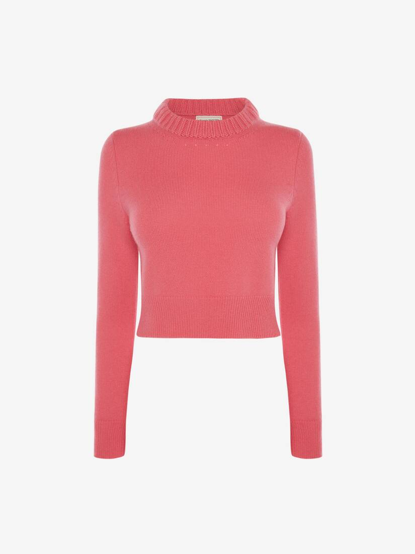 Display a large version of the product image 1 - Cropped Cashmere Jumper
