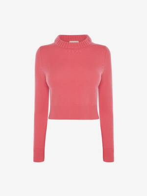 Cropped Cashmere Jumper