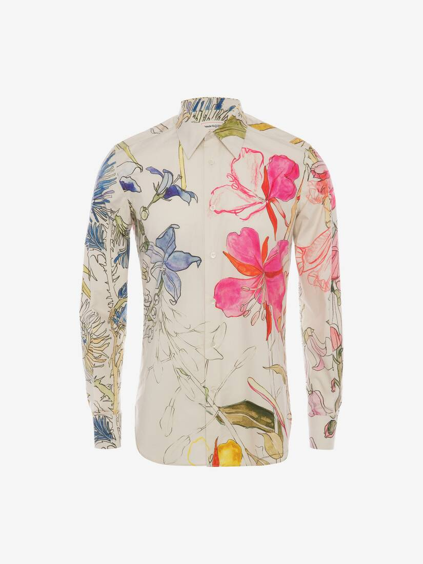 Display a large version of the product image 2 - Deconstructed Floral Shirt