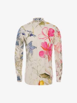 Deconstructed Floral Shirt