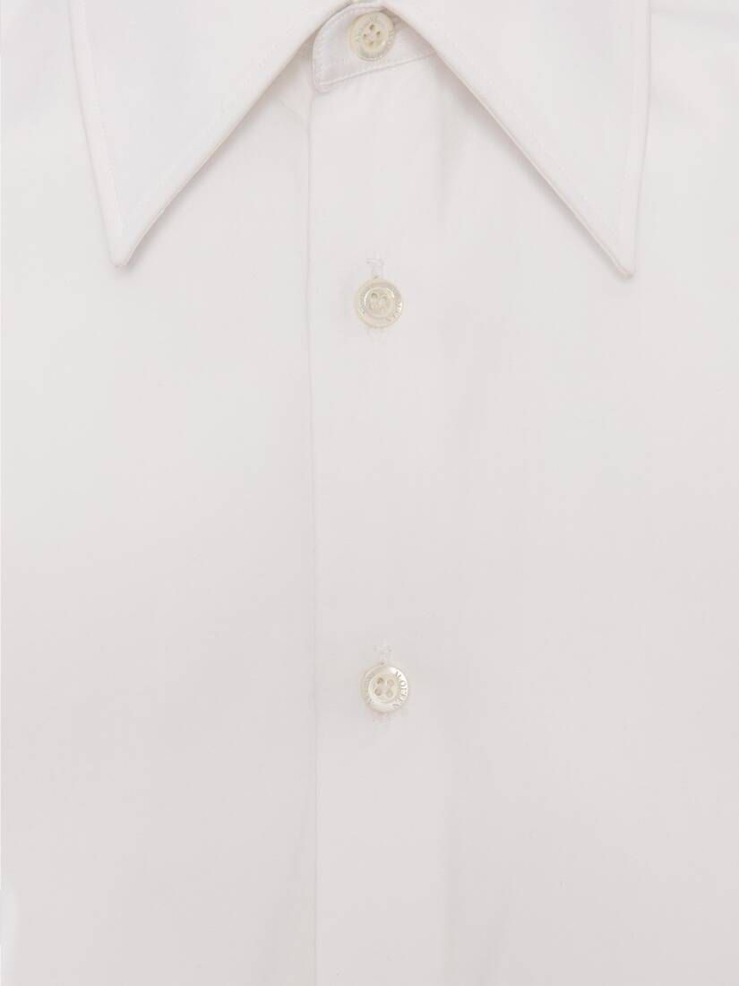 Display a large version of the product image 7 - Pointy Collar Cotton Poplin Shirt