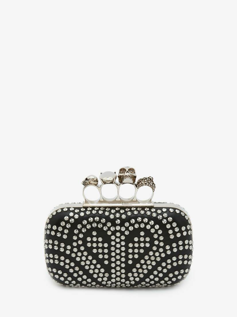 Skull Four-Ring Clutch
