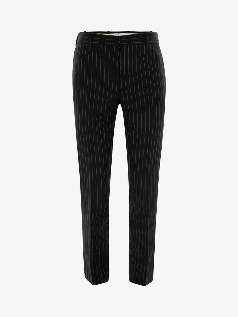 Display a large version of the product image 1 - Pinstripe Trousers