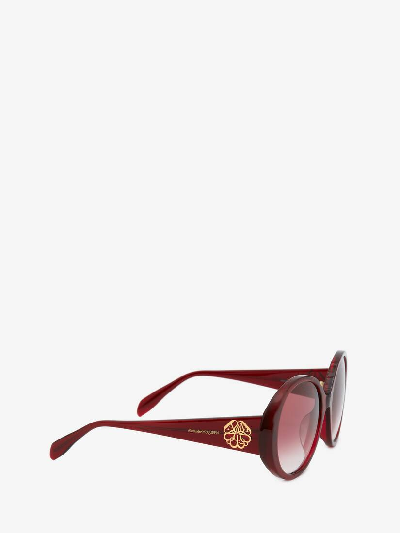 Display a large version of the product image 3 - Seal Logo Round Sunglasses