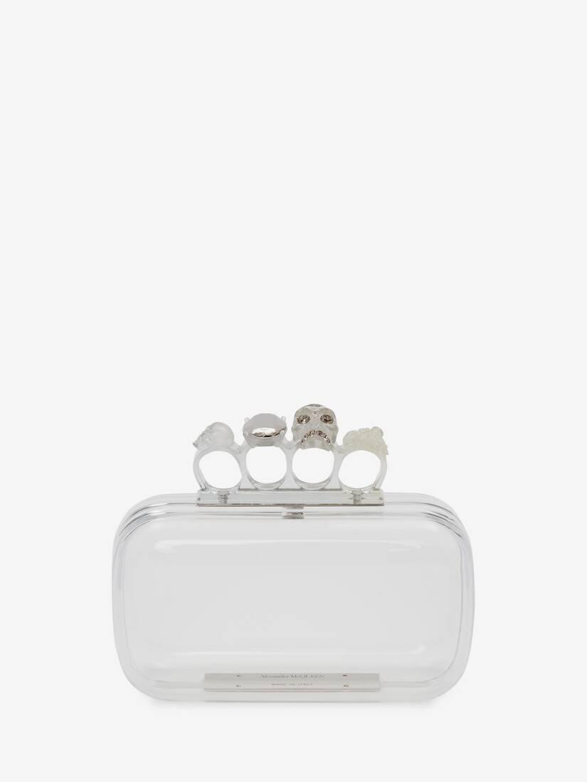Skull Four-Ring Clutch