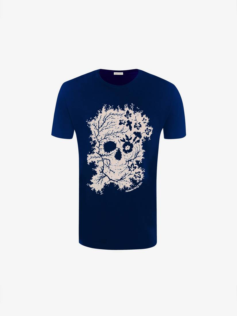 Display a large version of the product image 1 - Ivy Skull T-Shirt