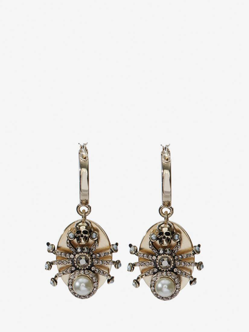 Display a large version of the product image 1 - Spider Earrings