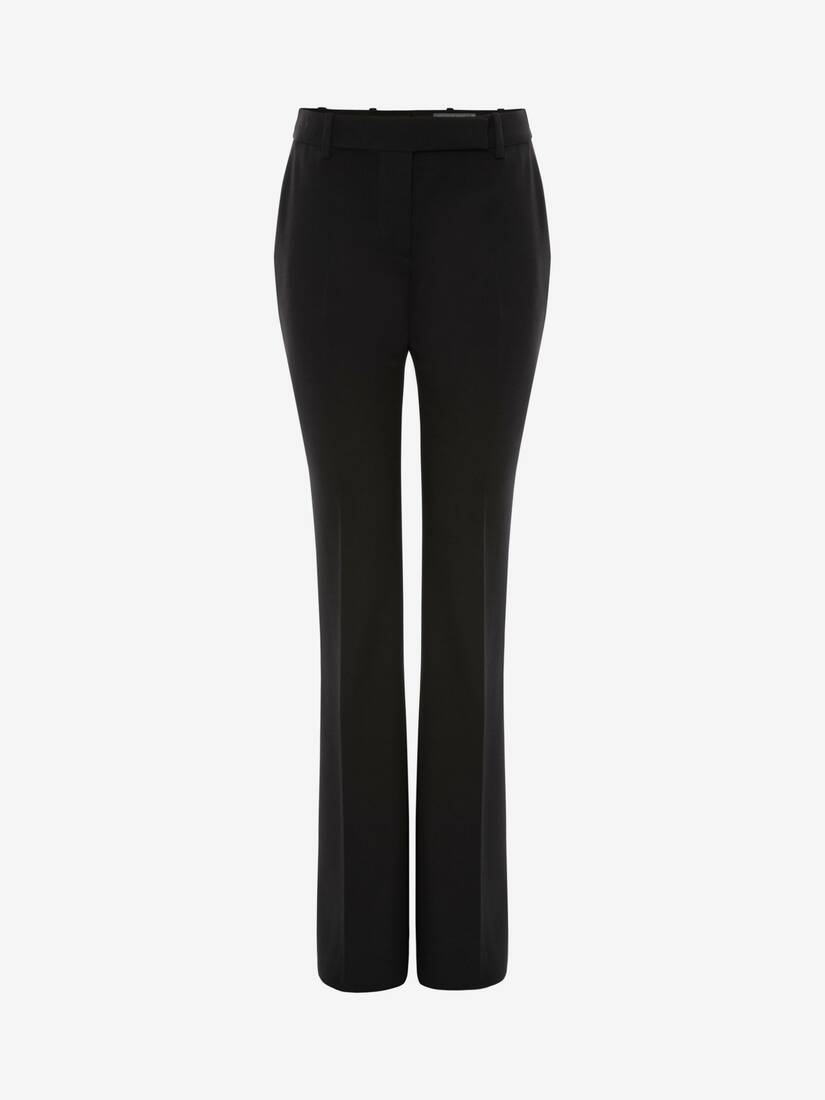 Display a large version of the product image 1 - Narrow Bootcut Trousers