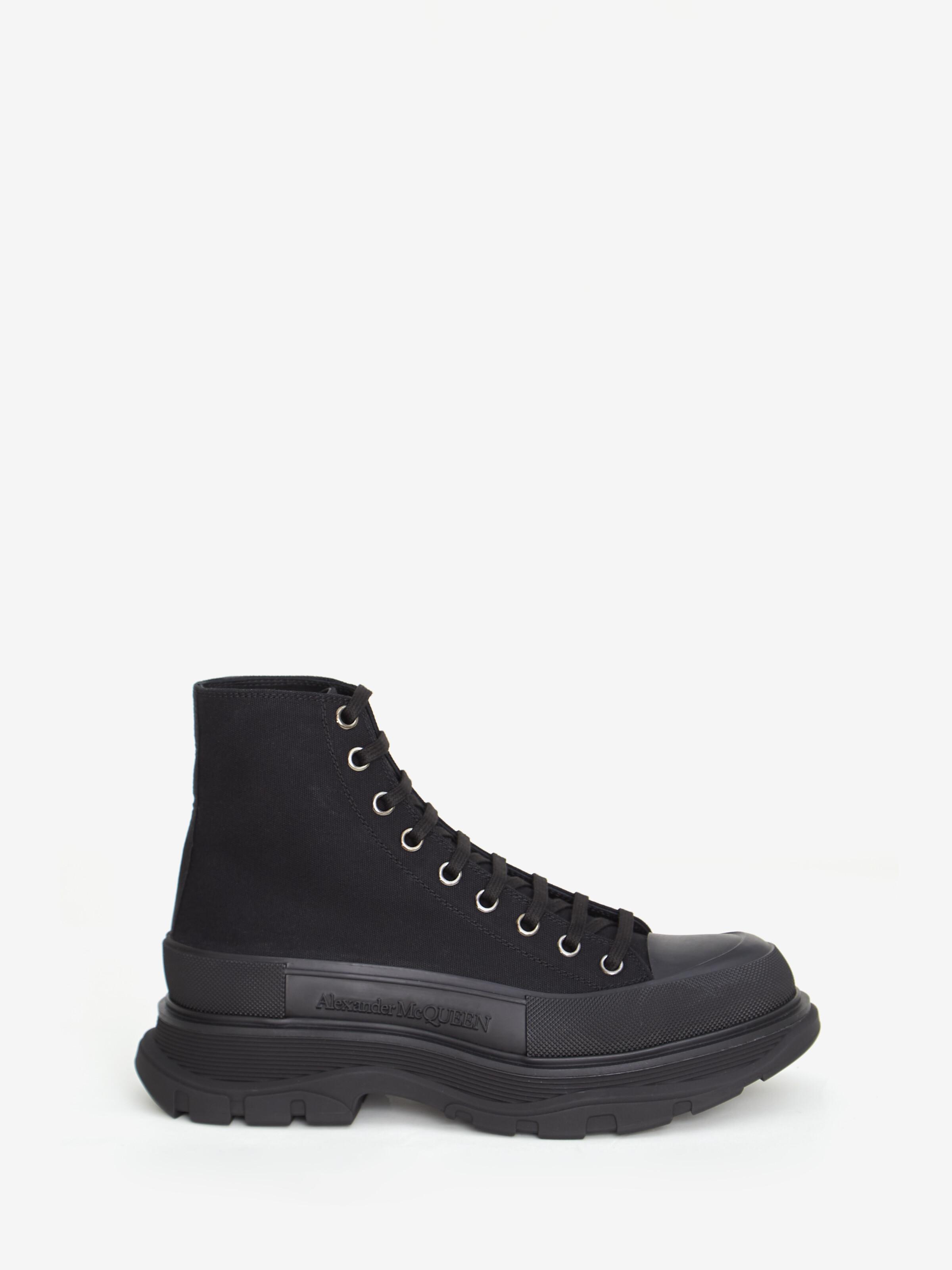 Tread Slick Boots in Black   Alexander