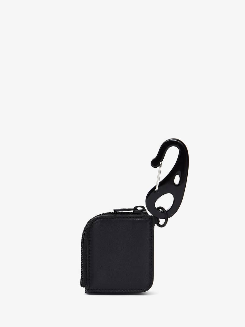 Alexander McQueen Selvedge Logo Airpod Case