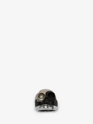 Bague «skull» sectionné