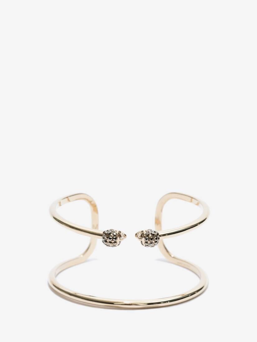 Bracelet double tour Skull