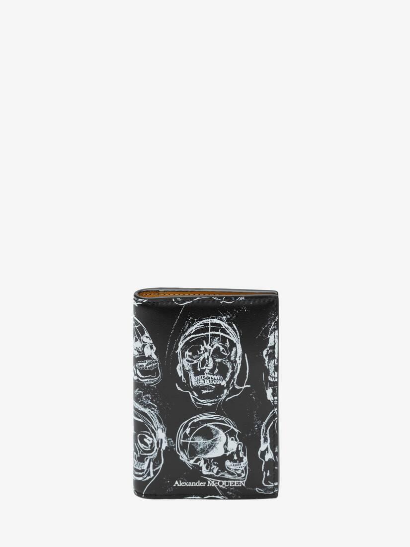大きな製品イメージを表示する 1 - ペインテッド スカル ポケットオーガナイザー