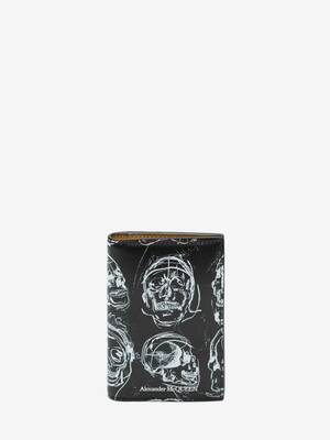 Painted Skull Pocket Organiser