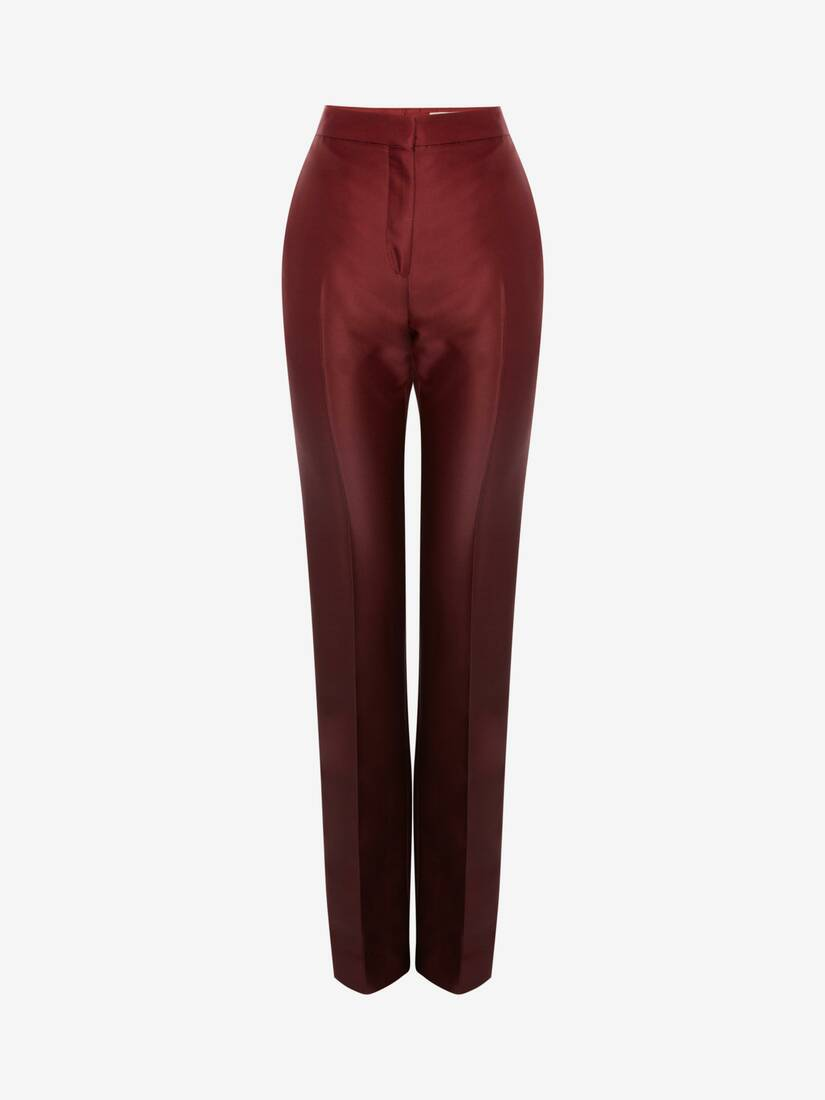 Dip Dye Long Cigarette Trouser
