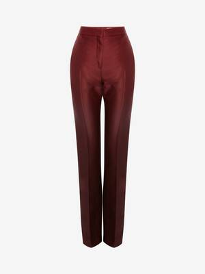 Pantalon cigarette long Dip Dye