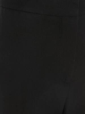 Light Wool Silk Cigarette Trouser