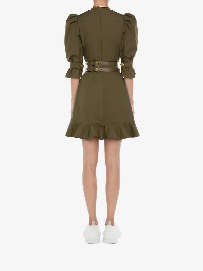 Display a large version of the product image 4 - Military Mini Dress
