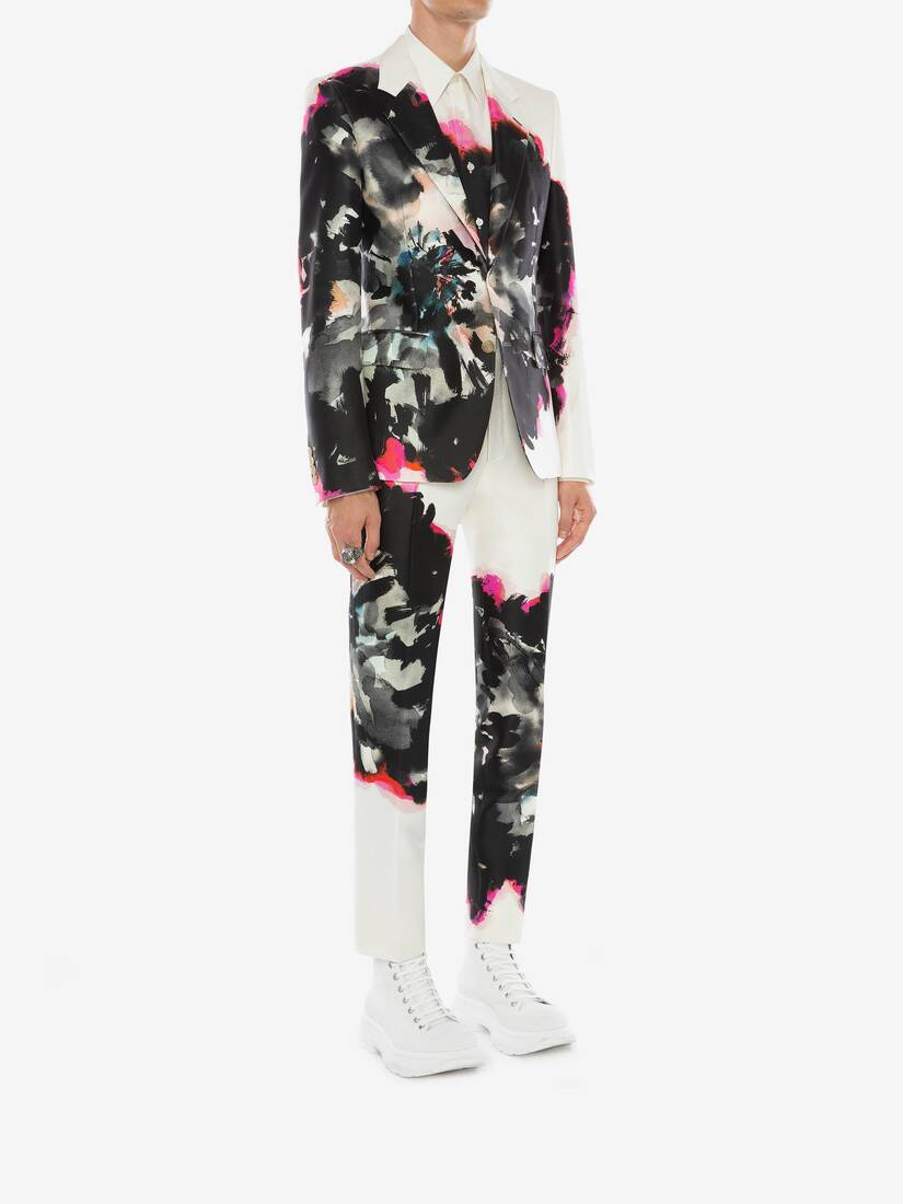 Display a large version of the product image 3 - Ink Floral Jacket