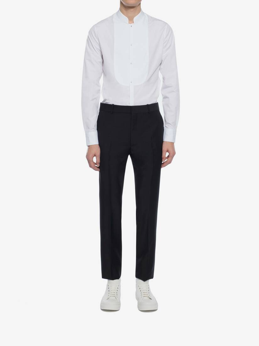 Display a large version of the product image 2 - Fitted Tailored Trousers