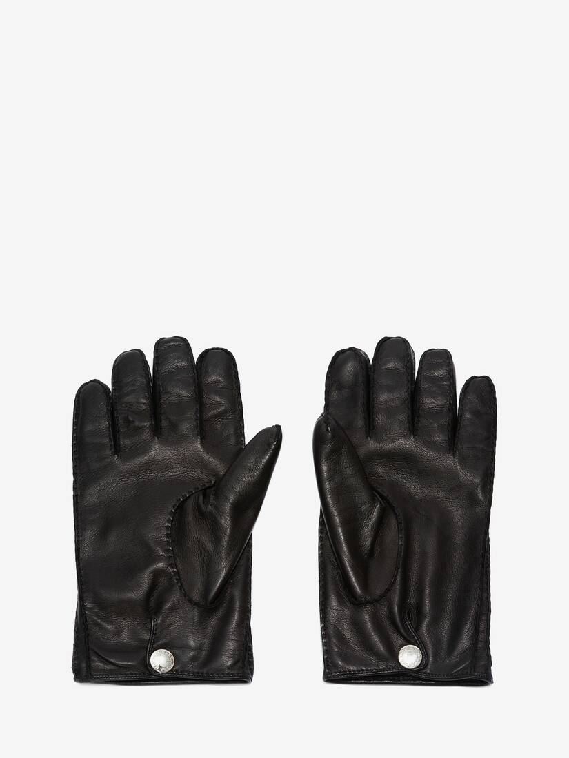Display a large version of the product image 2 - Leather Gloves