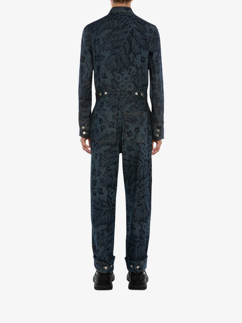 Display a large version of the product image 4 - Ivy Creeper Denim Jumpsuit